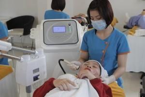 Sau trị mụn công nghệ Oxy-Led có phải uống thuốc không?