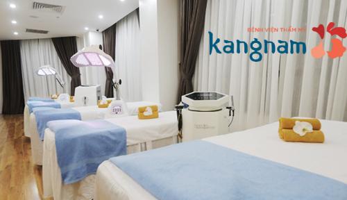 Chi phí điều trị mụn đầu đen hết bao nhiêu tiền tại BVTM Kangnam?4