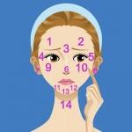 Vị trí mụn trên mặt nói lên điều gì về sức khỏe của bạn?