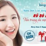 BÃO SALE ĐỔ BỘ!! CHỈ TỪ 600K: Rũ bỏ mụn – Tân trang da mịn sáng với Nano Skin 4 tác động