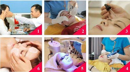 trị mụn cám bằng oxy-led có đau không? 3