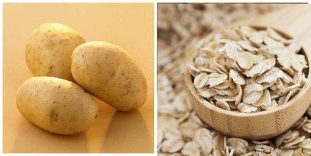 cách trị mụn bằng khoai tây hiệu quả 4