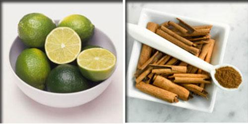Bài thuốc dân gian trị mụn hiệu quả từ chanh + bột quế