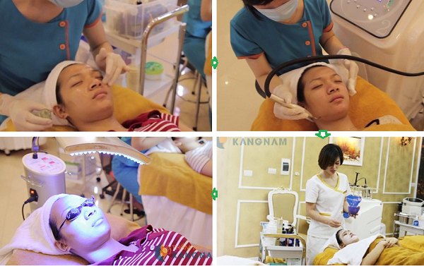 Thử kích ứng trước khi dùng mặt nạ trị mụn đầu đen Skinfood4