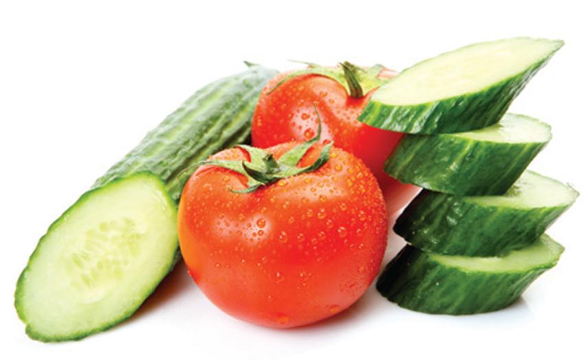 Kết quả hình ảnh cho cà chua dưa leo sữa chua