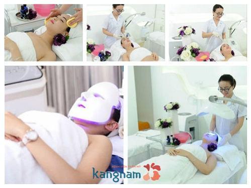Chi phí điều trị mụn đầu đen hết bao nhiêu tiền tại BVTM Kangnam?3