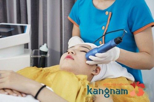trị mụn bằng nano skin