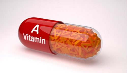 uống vitamin a để trị mụn