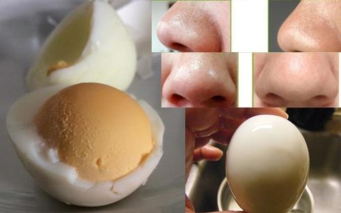 lăn trứng gà trị mụn