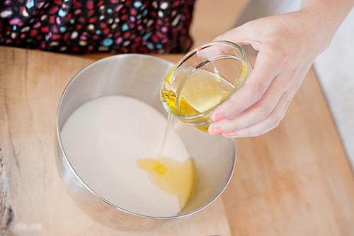 mặt nạ dầu oliu sữa chua