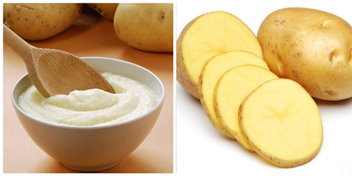 mặt nạ khoai tây sữa ong chúa