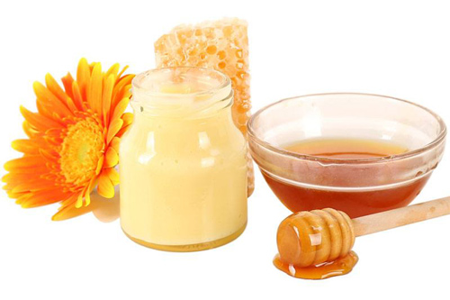 mặt nạ sữa ong chúa và mật ong