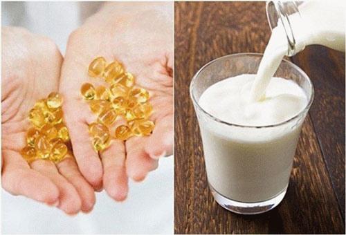 mặt nạ vitamin e cho da nhờn